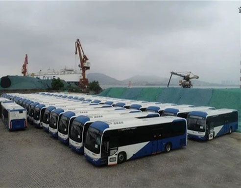 200 Units King Long Buses Equipped with Cummins Engines to Arrive in Cyprus